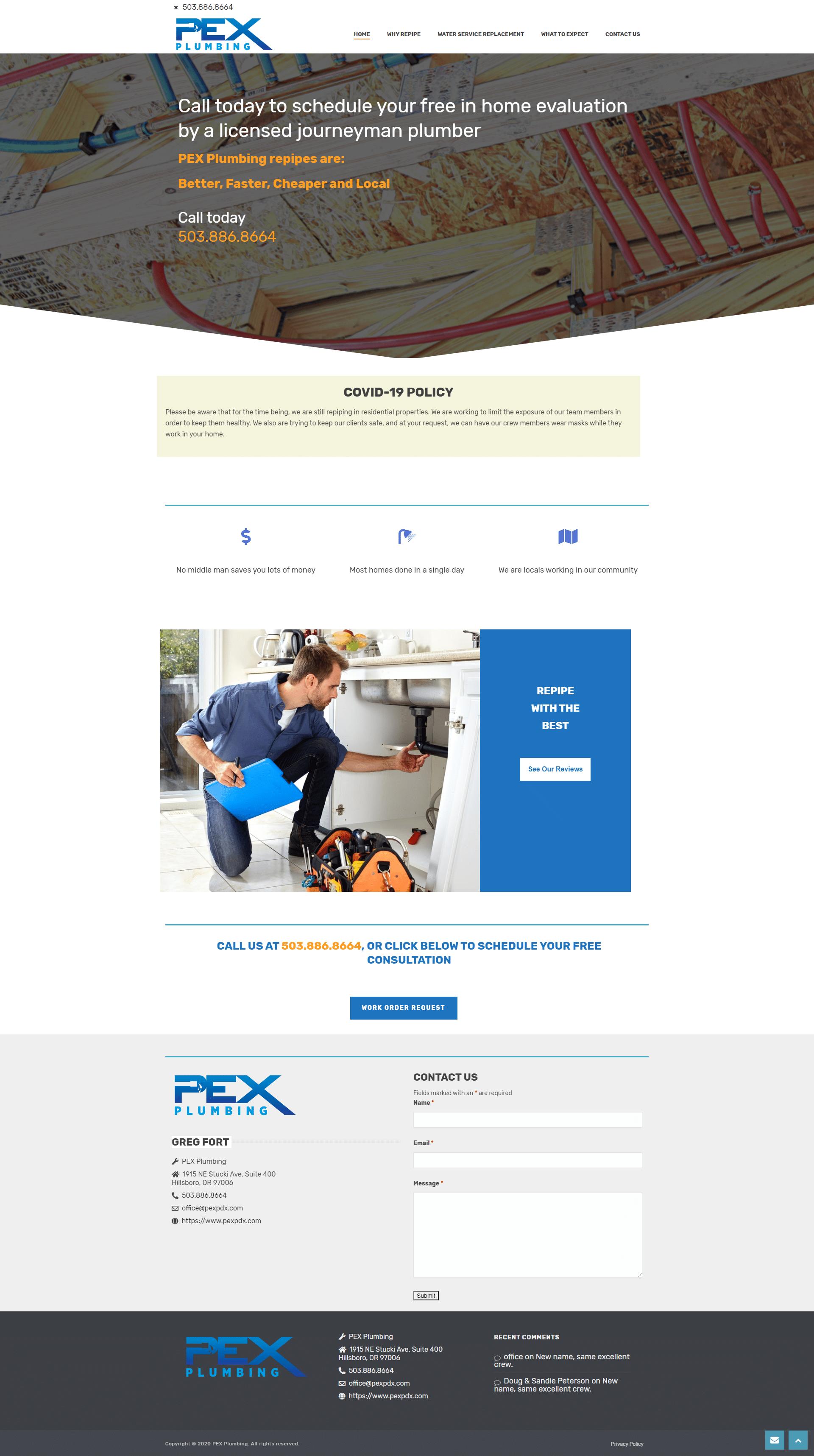 PEX PDX