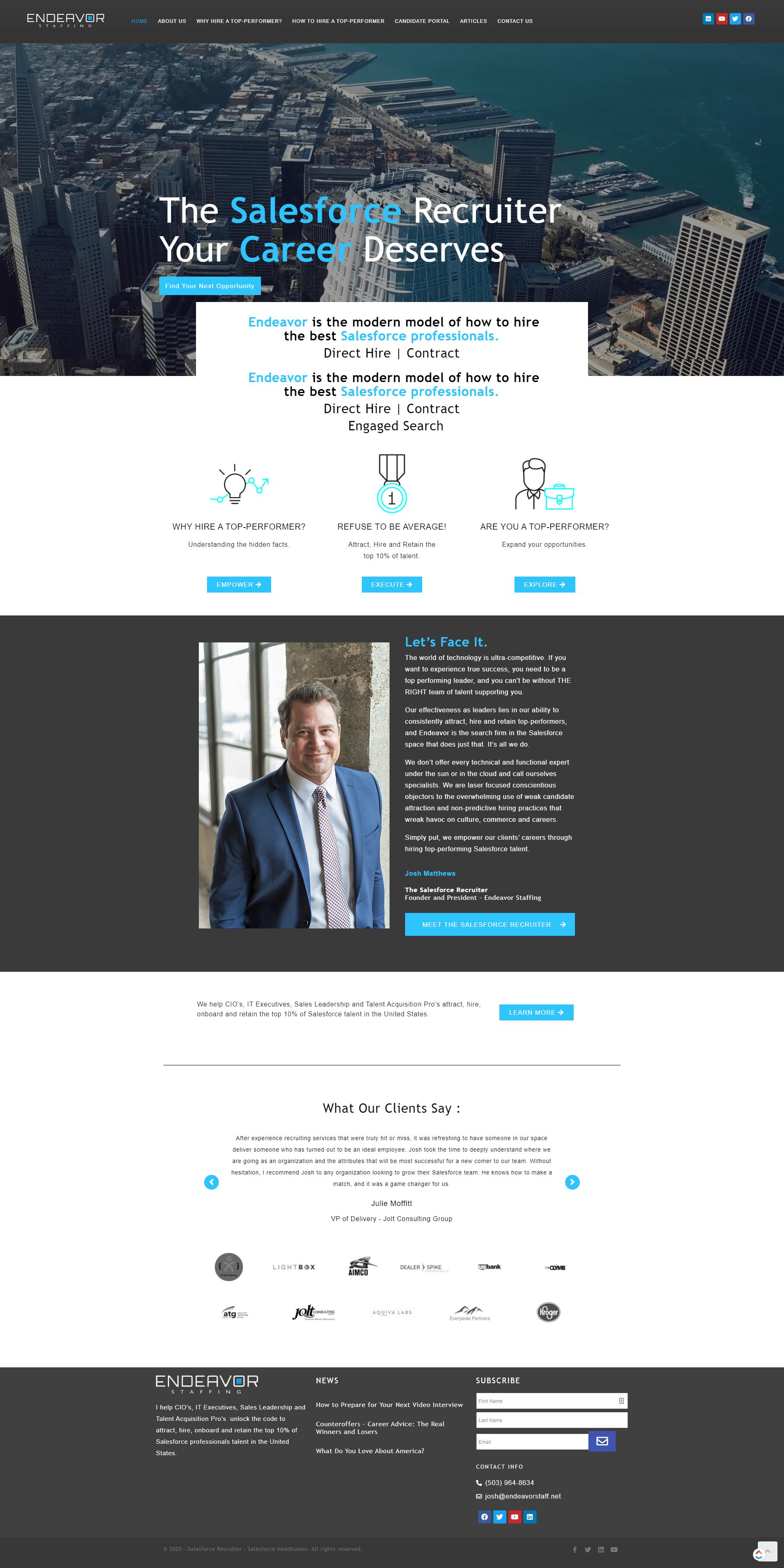 The Salesforce Recruiter